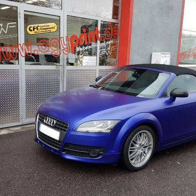 Audi Matt Dark Blue