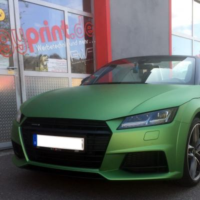 Audi Matt Metallic Grn