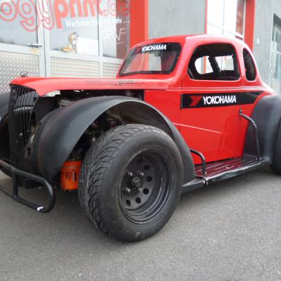 Legend Car Fr Yokohama Rot Und Carbonoptik