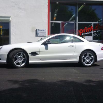 Mercedes Sl Diamond White Metallic