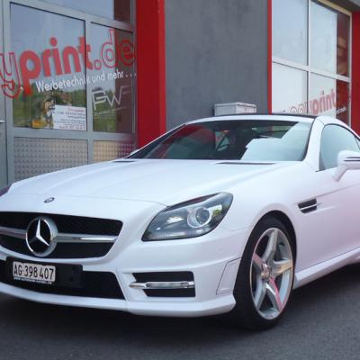 Mercedes Slk Mattweiss