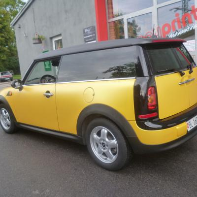 Mini Clubman Sunflower Matt Metallic