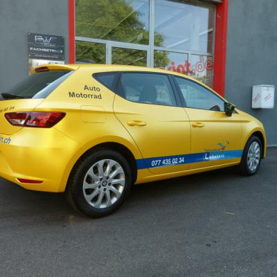 Seat Leon Sunflower Matt Metallic